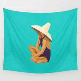 Criss Cross Applesauce Wall Tapestry