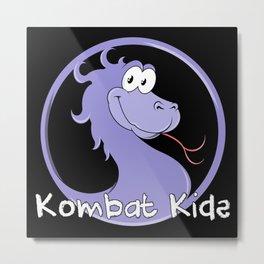 Kombat Kids Logo Metal Print