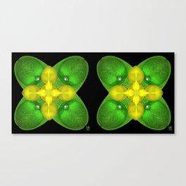 Quad Pod-Stereogram Canvas Print