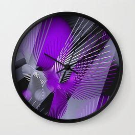 3D - abstraction -124- Wall Clock