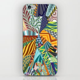 Pattern Explosion iPhone Skin