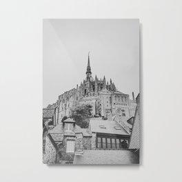 Mont Saint Michel Metal Print