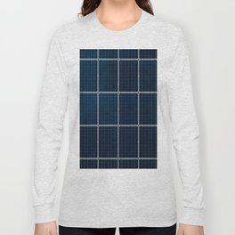 Solar Panel Pattern (Color) Long Sleeve T-shirt