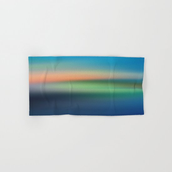 Abstract Seascape Hand & Bath Towel