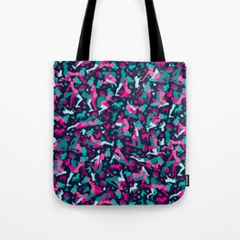Deep Dark Pink Tote Bag