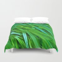 plants Duvet Covers featuring Plants by Catherine Donato