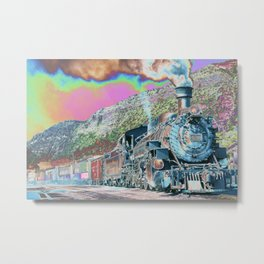 Express Train to Dreamland – Fine Art, Wall Art Décor, Abstract Metal Print