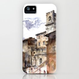 Cortona, Italy iPhone Case