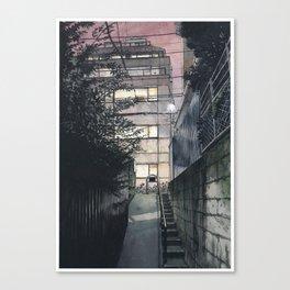 Tokyo at Night #05 Canvas Print