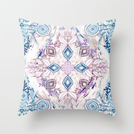 Wonderland in Winter Throw Pillow