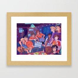 Poseidon's Cabin Framed Art Print