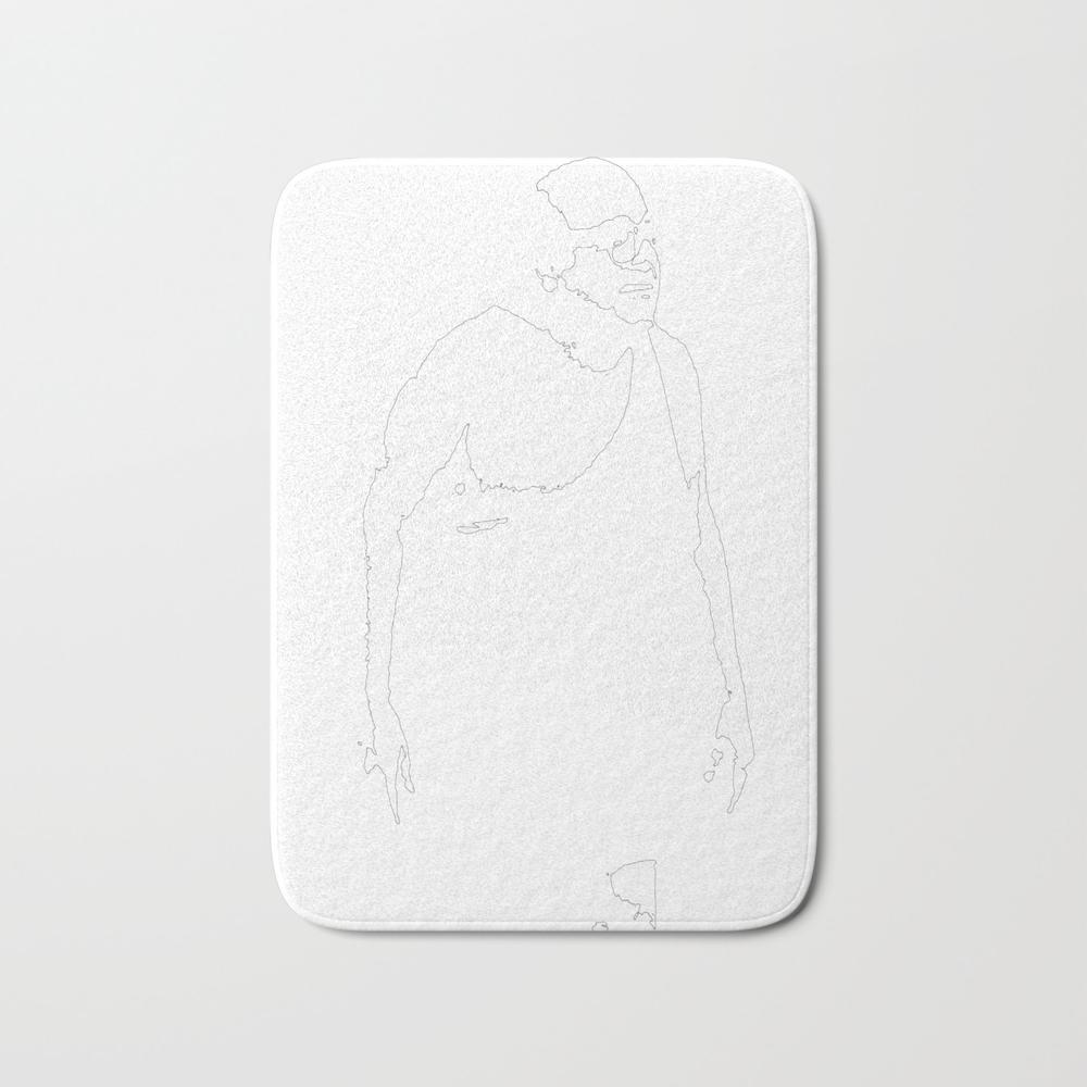 Trash Man Bath Mat by Thadesign BMT8900678