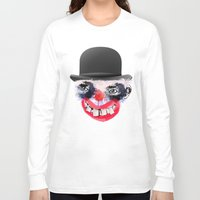 clown Long Sleeve T-shirts featuring Clown by Ahmet Hacıoğlu