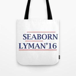 Seaborn and Lyman 2016  Tote Bag