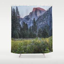 Light setting on Half Dome l Shower Curtain
