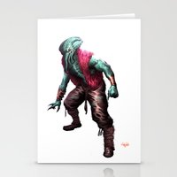 cthulhu Stationery Cards featuring CTHULHU by Yoncho Yonchev