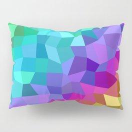 Multicolor mosaic tiles Pillow Sham