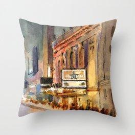 Richard Rogers - Hamilton Marquee Throw Pillow