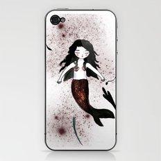 Noir Mermaid iPhone & iPod Skin