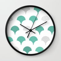 tokyo Wall Clocks featuring Tokyo by Siphong