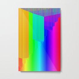 R Experiment 4 (quicksort v2) Metal Print