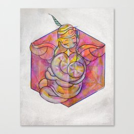 mother-s cube Canvas Print
