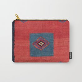 Ashar Ru Khorsi Kerman South Persian Blanket Print Carry-All Pouch