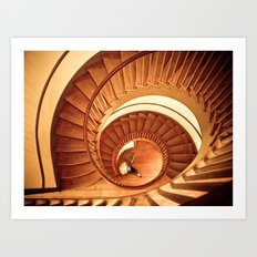 A Cornucopia of Stairs Art Print