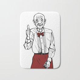 Waiter from Twin Peaks Bath Mat