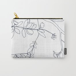 Branches and Leaves, Drawing Carry-All Pouch