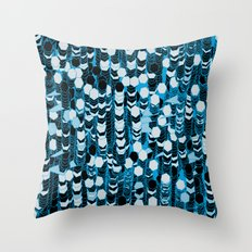 color hiving 2 colors Throw Pillow