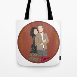 Sean Maguire & Lana Parrilla (The Happy Ending Convention II) Tote Bag