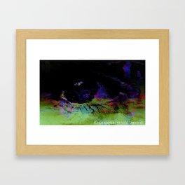 Window Of The Soul - Desire Framed Art Print