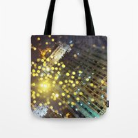 moscow Tote Bags featuring moscow by xp4nder