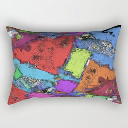 Fragments Rectangular Pillow