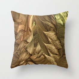 Broonie Throw Pillow