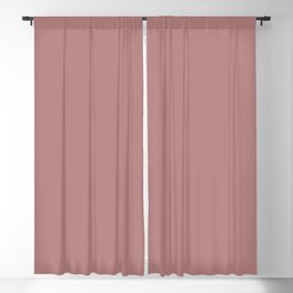 Ash Rose | Pantone Fashion Color | Spring : Summer 2018 | London | Solid Color | Blackout Curtain