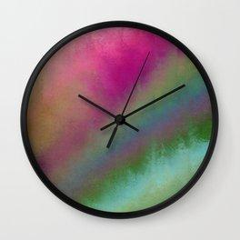 Color Burst - Flower Field Wall Clock