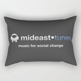 Mideast Tunes Rectangular Pillow
