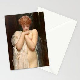 """Frederic Leighton """"Crenaia, the Nymph of the Dargle"""" Stationery Cards"""