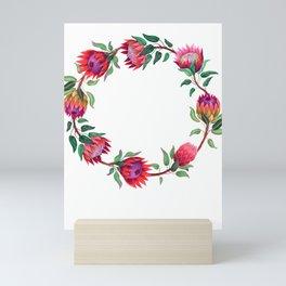 Womens Read the Syllabus Funny Female Professor Teacher Flowers design Mini Art Print