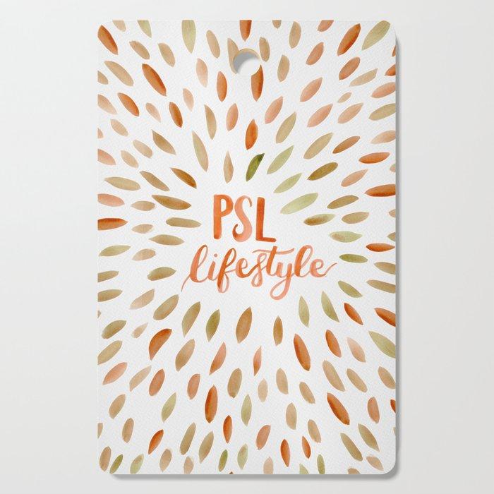 Pumpkin Spice Lifestyle Cutting Board