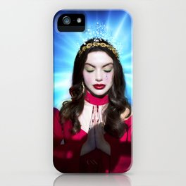 Not your usual saint iPhone Case