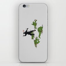 The Real Ninja Part 1 iPhone & iPod Skin