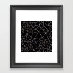 Seg with Red Spots Framed Art Print