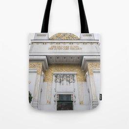 Secession building in Vienna Austria art nouveau Tote Bag