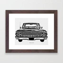 1964 Fairlane Framed Art Print