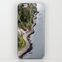 The Sea Wall  in Vancouver, Canada iPhone Skin