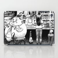 cheese iPad Cases featuring Cheese. by Samuel Guerrero