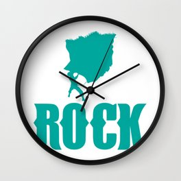 Rock Climbing - Love Climbing Wall Clock